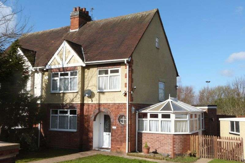 3 Bedrooms Semi Detached House for sale in Wigston Road, Oadby