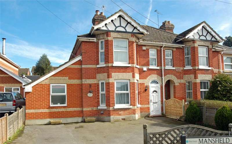 4 Bedrooms Semi Detached House for sale in Mansfield Road, Ringwood, Hampshire, BH24