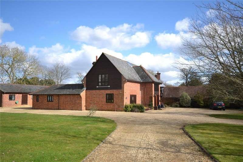 4 Bedrooms Barn Conversion Character Property for sale in Christchurch Road, Downton, Lymington, Hampshire, SO41