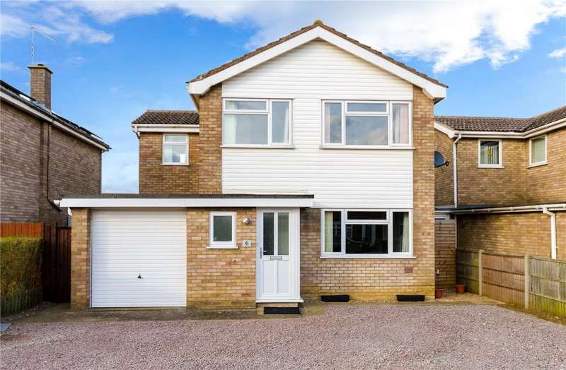 4 Bedrooms Detached House for sale in Moor Park, Ruskington, Sleaford, Lincolnshire, NG34