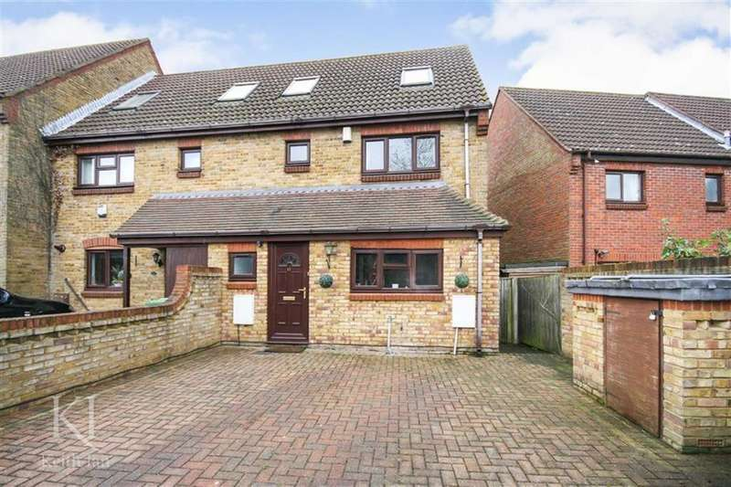 3 Bedrooms End Of Terrace House for sale in Peakes Lane, West Cheshunt
