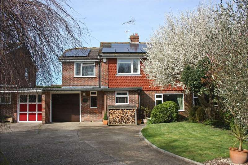 4 Bedrooms Semi Detached House for sale in Hermitage Close, North Mundham, Chichester, West Sussex