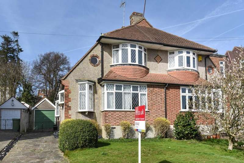 2 Bedrooms Semi Detached House for sale in Courtfield Rise, West Wickham, BR4