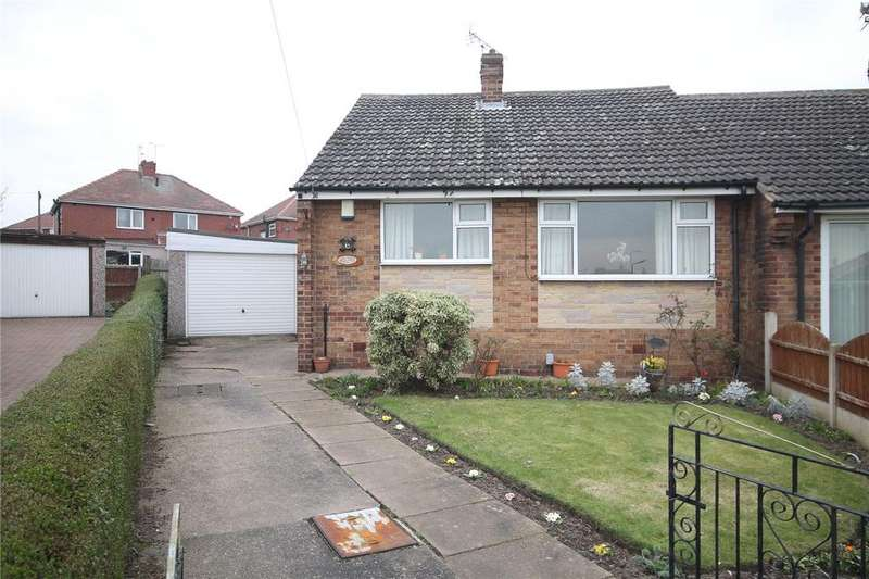 2 Bedrooms Semi Detached Bungalow for sale in Ryton Avenue, Wombwell, Barnsley, South Yorkshire, S73