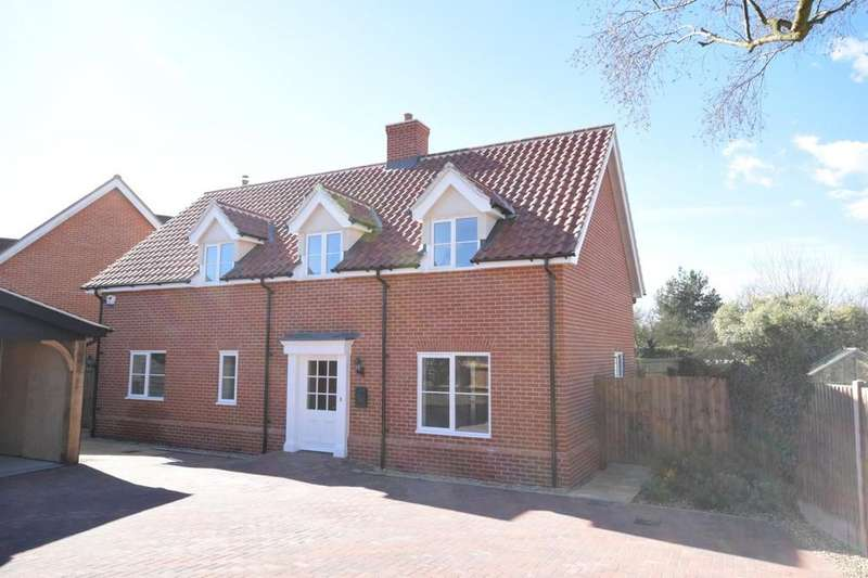 4 Bedrooms Detached House for sale in The Street, Raydon, Ipswich, Suffolk