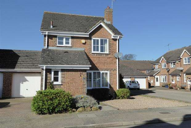 3 Bedrooms Detached House for sale in Tapeley Gardens, East Hunsbury, Northampton, NN4