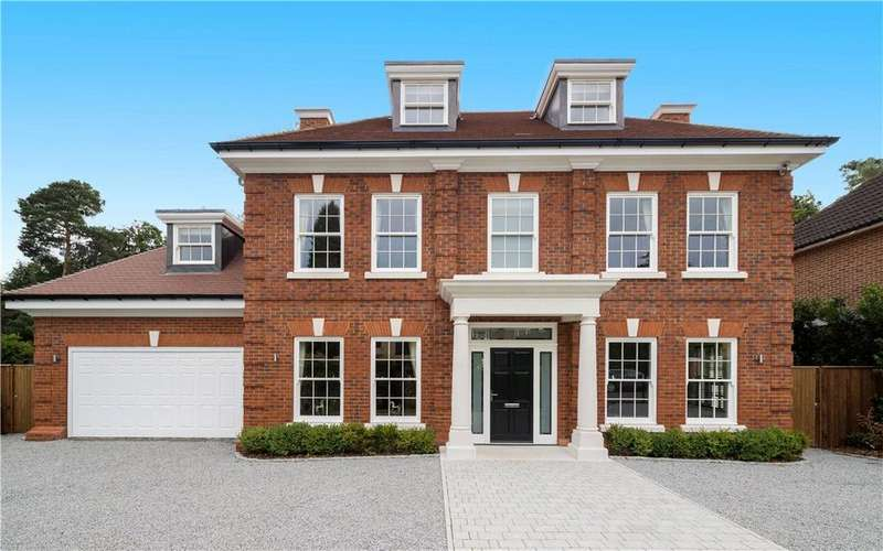 6 Bedrooms Detached House for sale in Ellesmere Road, Weybridge, Surrey, KT13