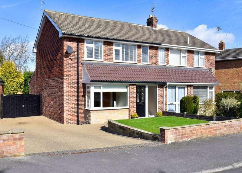 3 Bedrooms Semi Detached House for sale in Woodlands Crescent, Harrogate