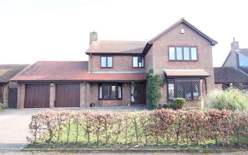 4 Bedrooms Detached House for sale in Squires Close, Hitchin Road, Shefford, SG17