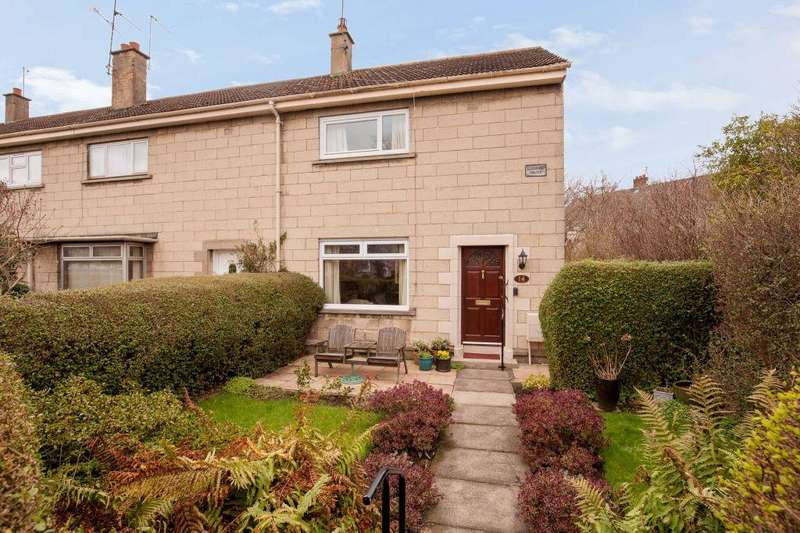 2 Bedrooms End Of Terrace House for sale in 14 Rankin Drive, EDINBURGH, EH9 3DE
