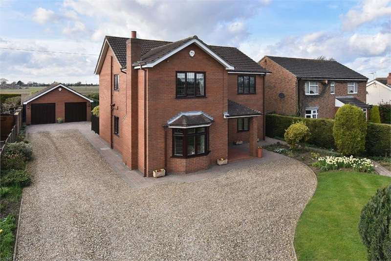 4 Bedrooms Detached House for sale in Hubberts Bridge Road, Kirton Holme, Boston, Lincolnshire