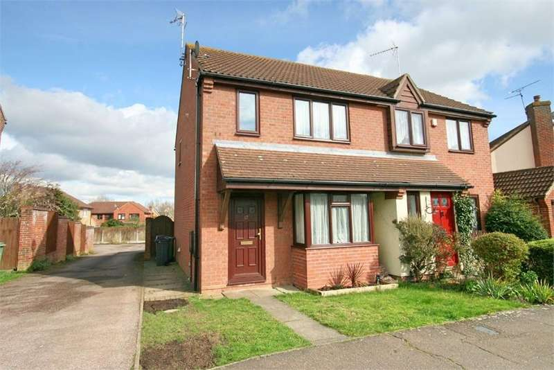 3 Bedrooms Semi Detached House for sale in Pennyroyal Crescent, Witham, Essex