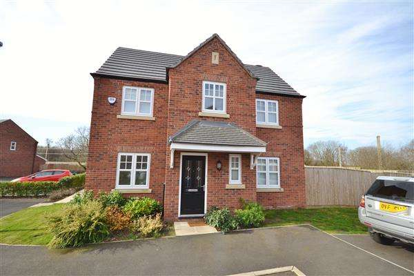 4 Bedrooms Detached House for sale in Almond Drive, Coppull, Chorley