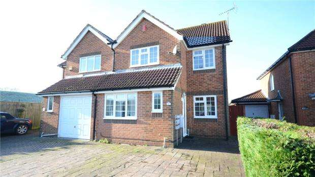 3 Bedrooms Semi Detached House for sale in Ayrton Senna Road, Tilehurst, Reading