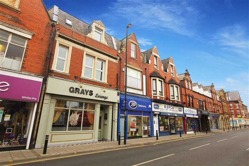 3 Bedrooms Flat for sale in Whitley Road, Whitley Bay