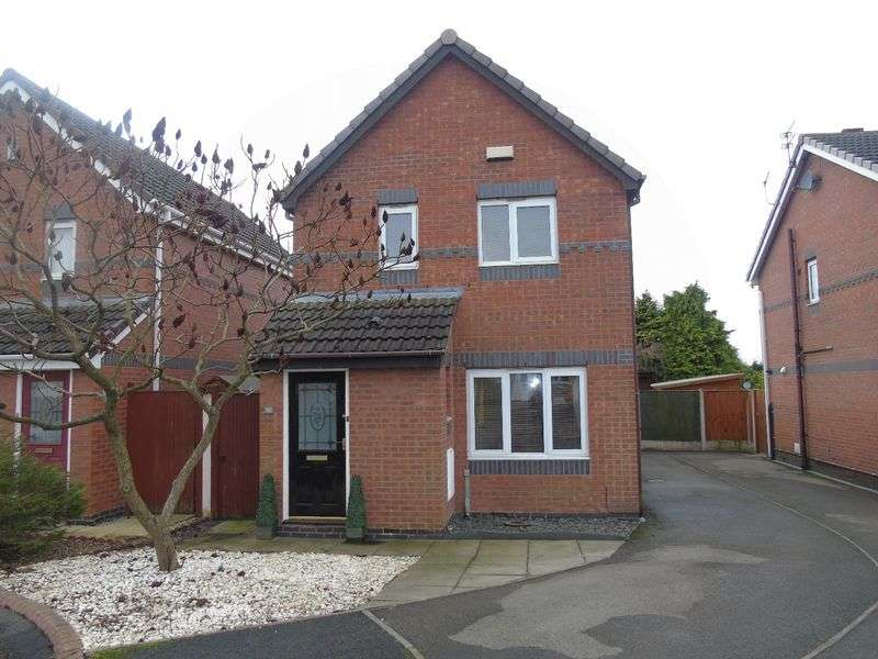 3 Bedrooms Detached House for sale in Broadlands, Prescot
