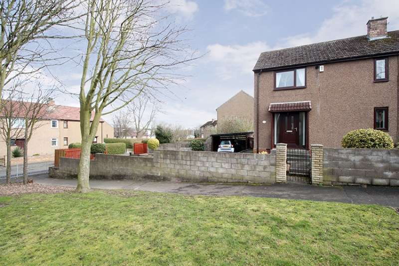 3 Bedrooms Semi Detached House for sale in Macduff Gardens, Glenrothes, Fife, KY7 4BS