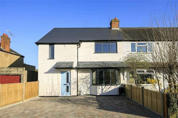 3 Bedrooms End Of Terrace House for sale in Dean Road, Hampton, Middlesex