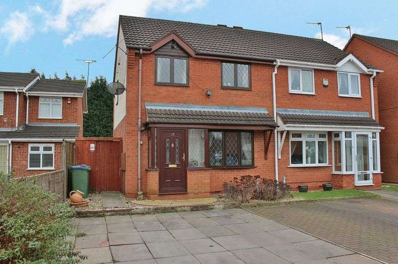 3 Bedrooms Semi Detached House for sale in Weston Drive, Tipton