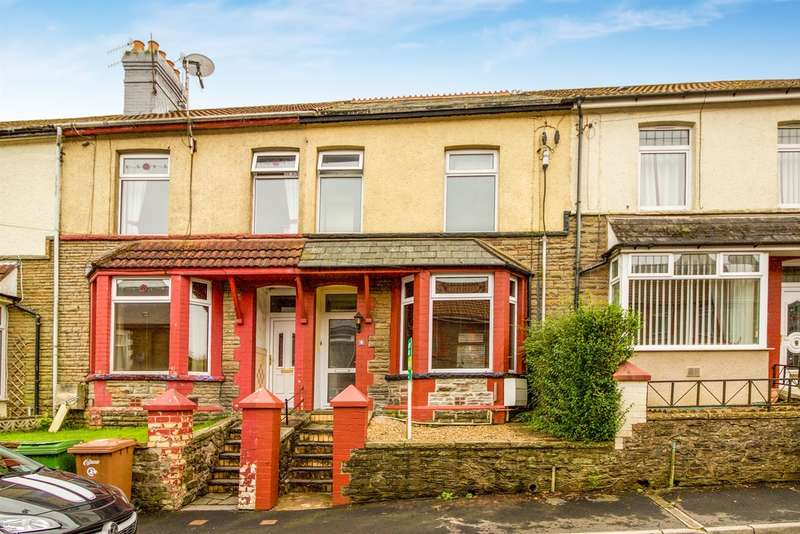 3 Bedrooms Terraced House for sale in Hendre Road, Abertridwr, Caerphilly