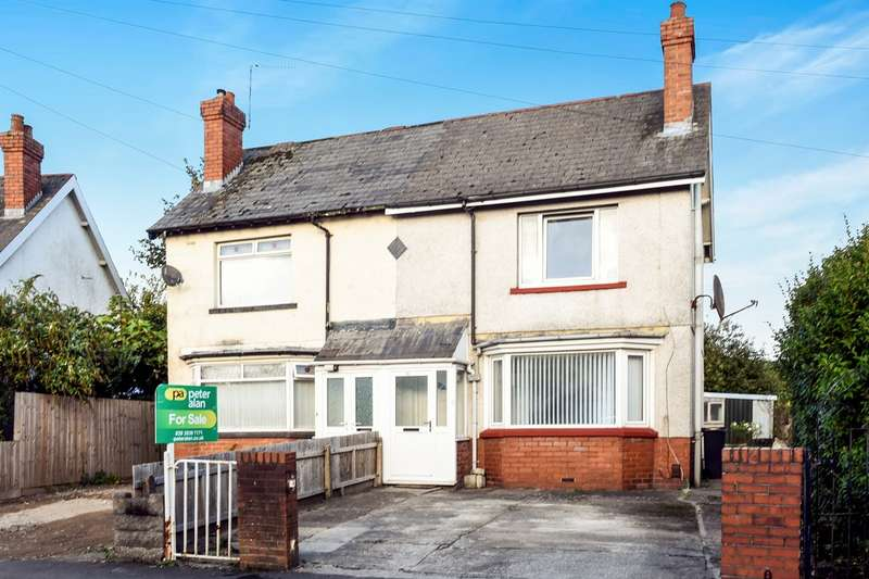 2 Bedrooms Semi Detached House for sale in Leckwith Close, Cardiff