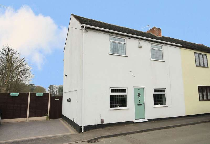 3 Bedrooms Semi Detached House for sale in Mill Lane, Fazeley, Tamworth, B78 3QD