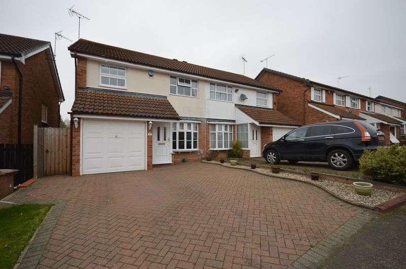 3 Bedrooms Semi Detached House for sale in Cicero Drive, Luton