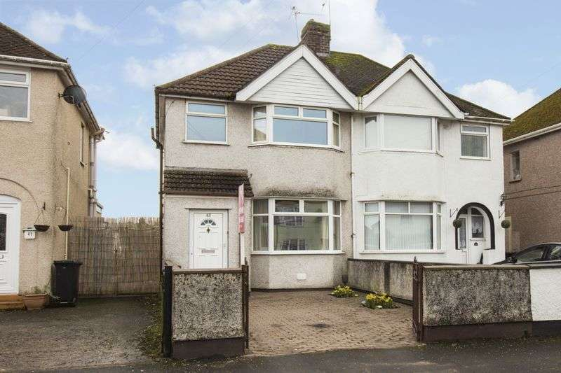 3 Bedrooms Semi Detached House for sale in Traston Road, Newport