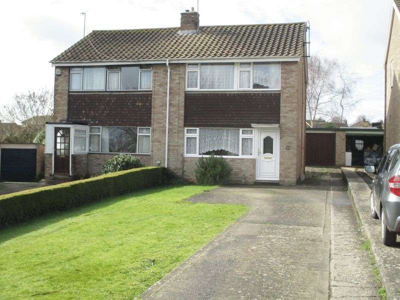 3 Bedrooms Semi Detached House for sale in Bucklers Mead Road, Yeovil