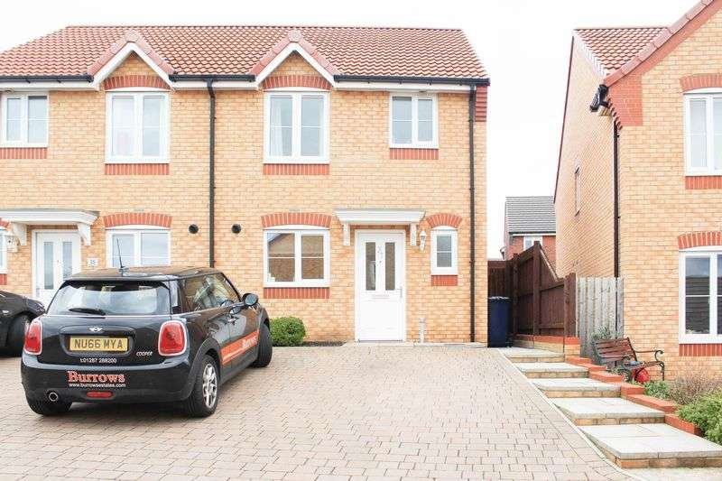 3 Bedrooms Semi Detached House for sale in Newbury Road, Saltburn-By-The-Sea