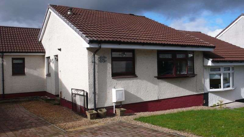 2 Bedrooms Semi Detached Bungalow for sale in Kirkton Crescent, Coatbridge