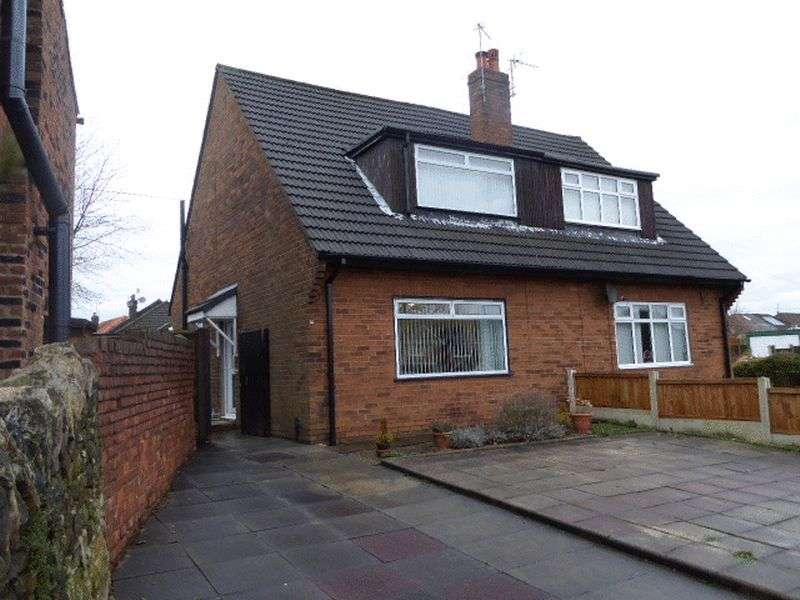 3 Bedrooms Semi Detached Bungalow for sale in Ratcliffe Road, Wigan