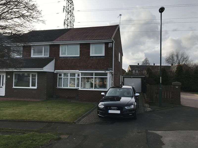 3 Bedrooms Semi Detached House for sale in Caraway Walk, South Shields