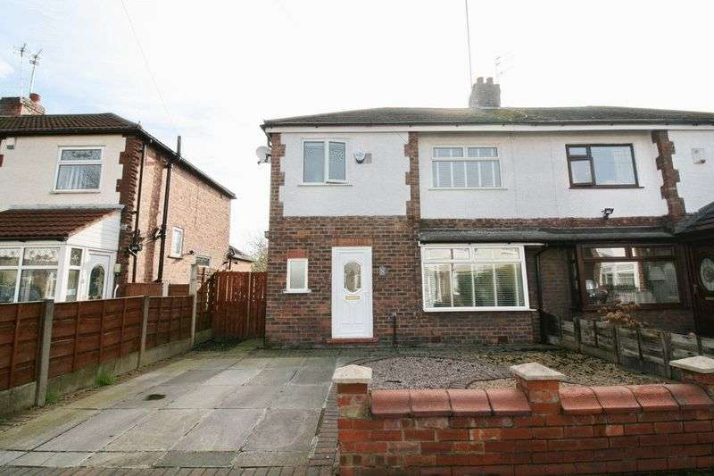 3 Bedrooms Semi Detached House for sale in Ewhurst Avenue, South Swinton Manchester