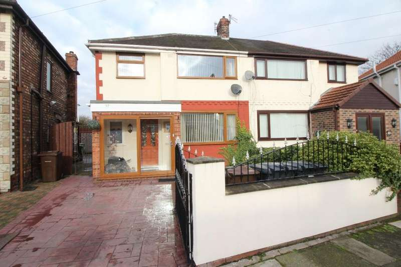 3 Bedrooms Semi Detached House for sale in Abbystead Avenue