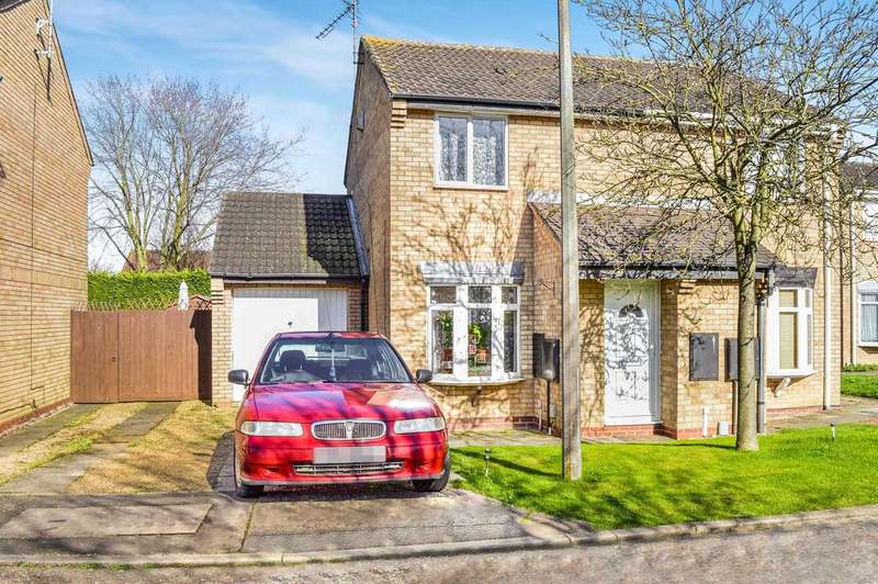 2 Bedrooms Semi Detached House for sale in Peterborough PE4