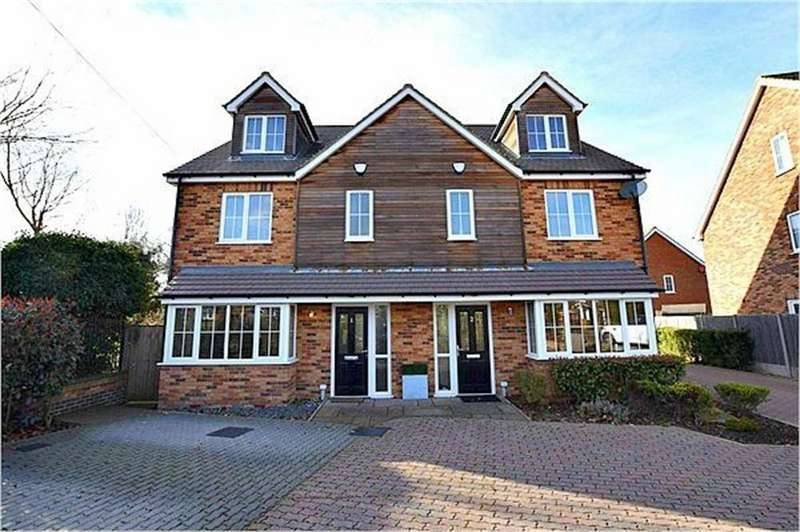 4 Bedrooms Semi Detached House for sale in The Clarendon, Privet Drive, Leavesden, Watford