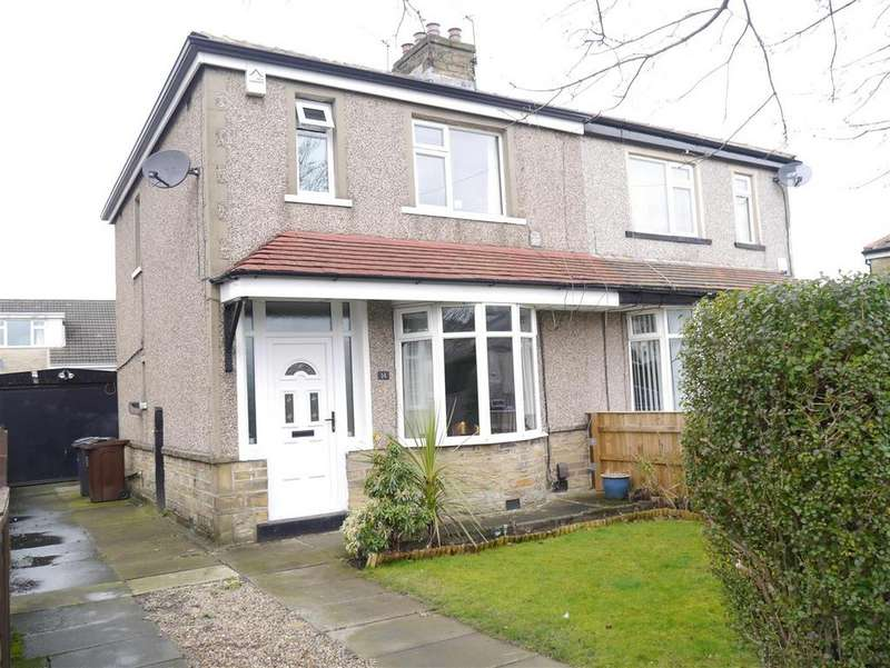 3 Bedrooms Semi Detached House for sale in Low Ash Crescent, Shipley, BD18 1JB