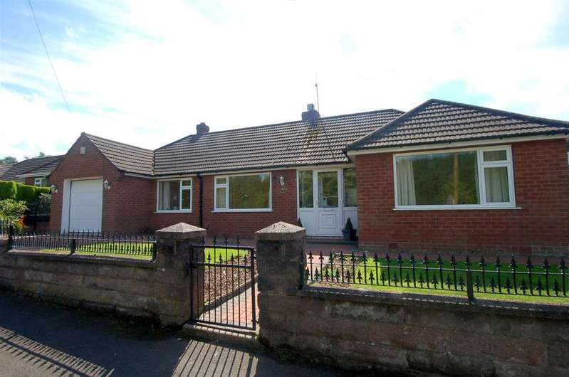 2 Bedrooms Detached Bungalow for sale in Linley Road, Talke