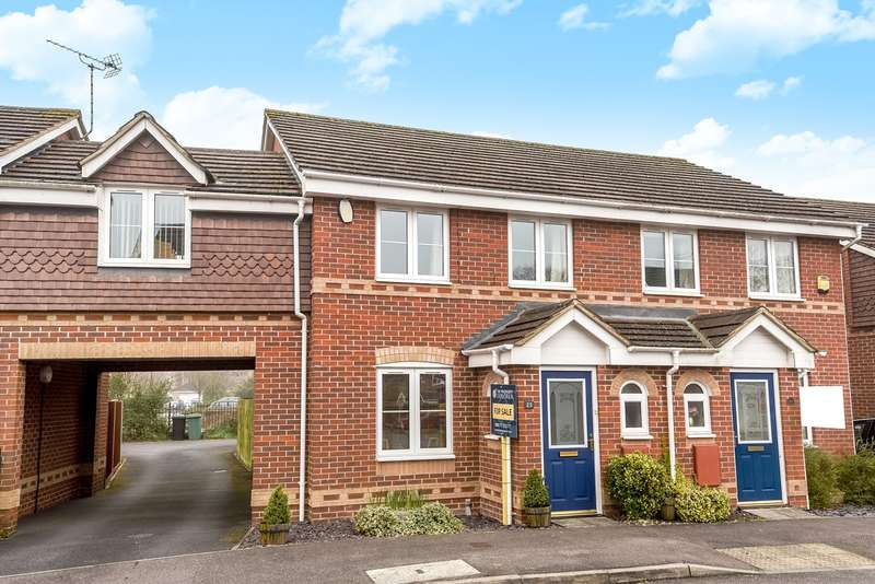 3 Bedrooms Semi Detached House for sale in Herriard Place, Beggarwood, Basingstoke, RG22
