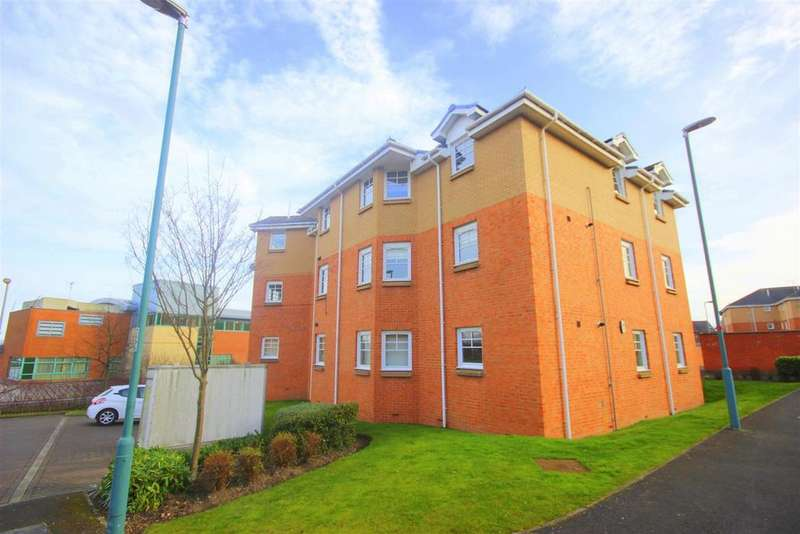 2 Bedrooms Flat for sale in Robertson Court, Chester Le Street