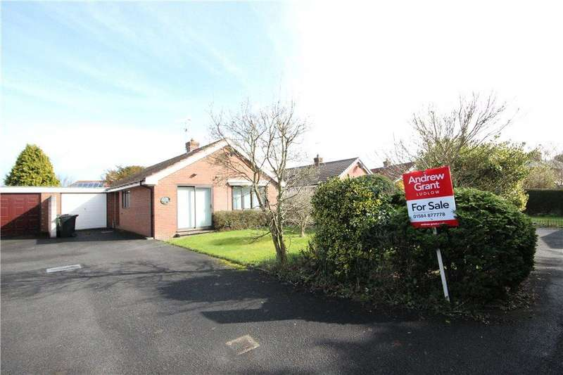 2 Bedrooms Bungalow for sale in Orchard View, Coppice Drive, Craven Arms, Shropshire, SY7