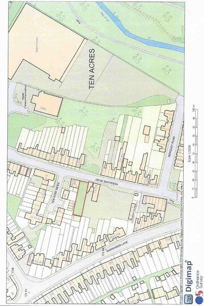 Plot Commercial for sale in Pershore Road, Stirchley