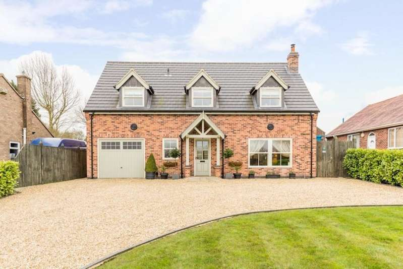 4 Bedrooms Detached House for sale in Chapter Cottage, Lincoln Road, Washingborough