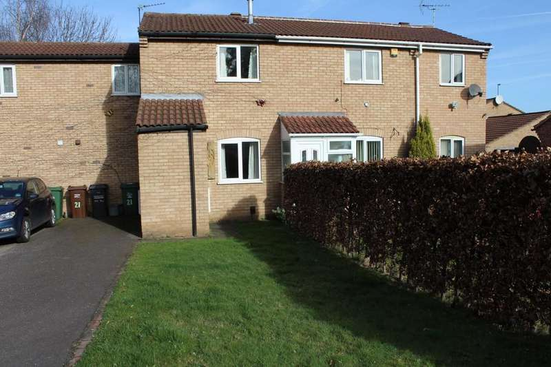 2 Bedrooms Terraced House for sale in Abberton Way, Loughborough