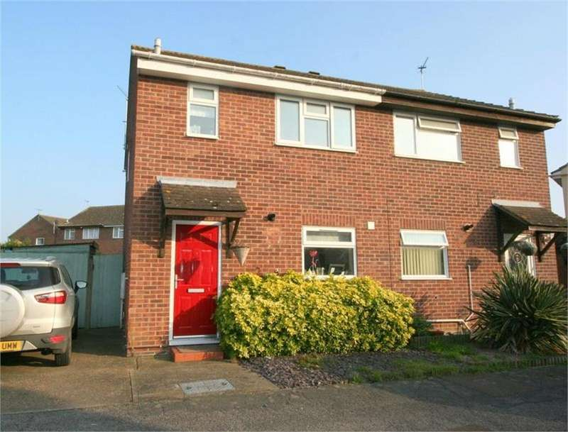 3 Bedrooms Semi Detached House for sale in Dixon Avenue, CLACTON-ON-SEA, Essex