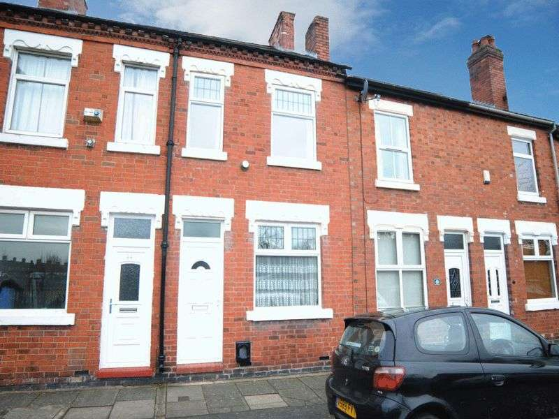 3 Bedrooms Terraced House for sale in Spode Street, Stoke-On-Trent, ST4 4DY