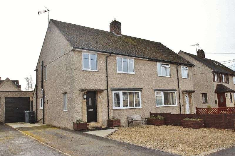 3 Bedrooms Semi Detached House for sale in HAILEY, Giernalls Road OX29 7TY