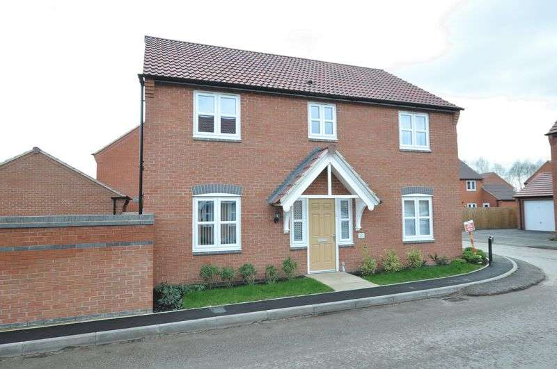 4 Bedrooms Detached House for sale in Cascade Close, Nr Stretton