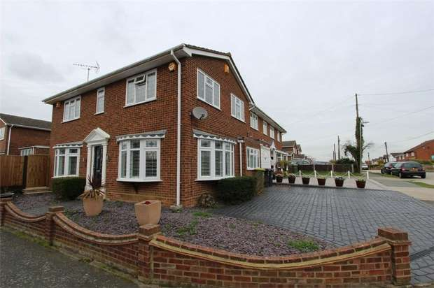 4 Bedrooms Detached House for sale in 1 Lancaster Road, RAYLEIGH, Essex